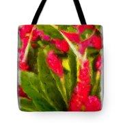 Ginger Plants On Kauai Tote Bag