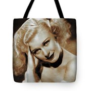 Ginger Rogers, Actress Tote Bag