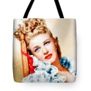 Ginger Rogers By John Springfield Tote Bag
