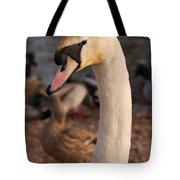 Ginger Swan Tote Bag
