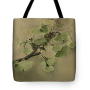 Gingko Branch Tote Bag