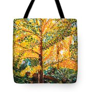 Gingko Tree Tote Bag