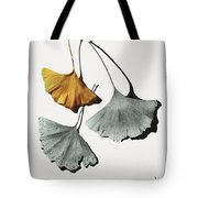 Ginkgo Leaves Tote Bag