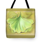 Ginkgo On The Cusp Of Autumn Tote Bag