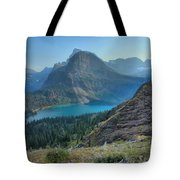 Ginnell Glacier Lake Tote Bag