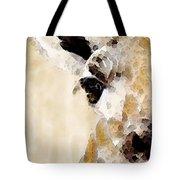 Giraffe Art - Side View Tote Bag