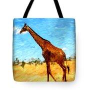 Giraffe Tote Bag