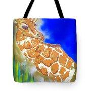 Giraffe Tote Bag by J R Seymour
