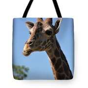 Giraffe Neck Tote Bag