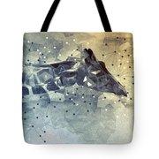 Giraffe Poly Tote Bag