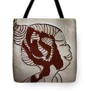 Girl - Tile Tote Bag