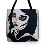 Girl After Midnight Tote Bag