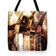 Woman In Fall Tote Bag