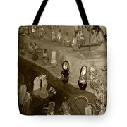 Girl Cant Have Enough Shoes Tote Bag