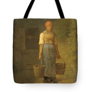 Girl Carrying Water Tote Bag