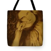 Girl Dancing Tote Bag