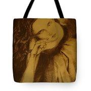 Girl Dancing Tote Bag