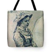 Girl Hell 1882 Ilya Repin Tote Bag