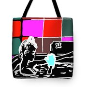 Girl In Bath Tote Bag