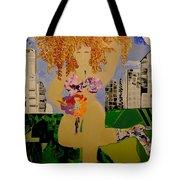 Girl In The City Tote Bag