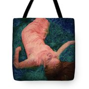 Girl In The Pool 14 Tote Bag