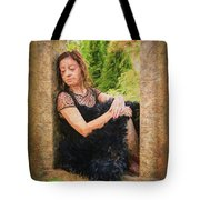 Girl In The Pool 21 Tote Bag