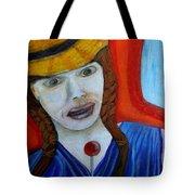 Girl On A Train Tote Bag