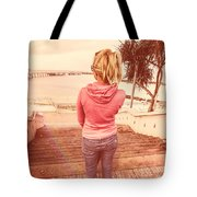 Girl On Redcliffe Travel Holiday Tote Bag