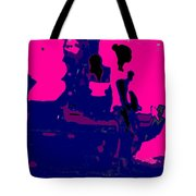 Girl Passing Coconut Vendor Reading Tote Bag
