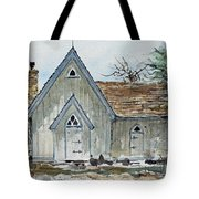 Girl Scout Little House Tote Bag