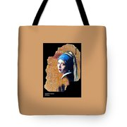 Girl With Capicitor Tote Bag