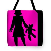 Girl With Ted Tote Bag