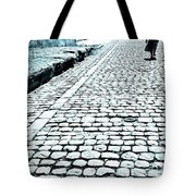 Girl With The Naked Feet Tote Bag