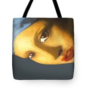 Girl With The Pearl Earring Side Tote Bag