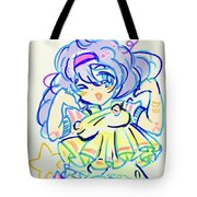 Girl04 Tote Bag
