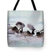 Girls At The Beach Tote Bag