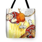 Girl's Basketball Tote Bag