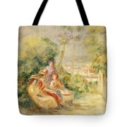 Girls In A Garden Tote Bag
