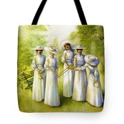 Girls In The Band Tote Bag