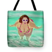 Girls Just Wanna Have Fun Tote Bag