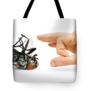 Give Pests The Flick Tote Bag