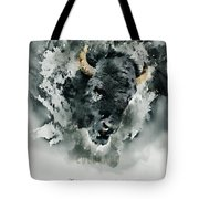 Give Thanks Colorado Watercolor Tote Bag