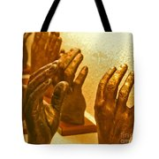 Give Them A Hand Tote Bag