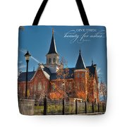 Give Them Beauty For Ashes Tote Bag