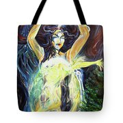Give To The Light Tote Bag