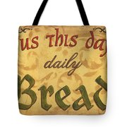 Give Us This Day Tote Bag by Debbie DeWitt