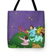 Giving Wishes Wings Tote Bag by Sarah Batalka