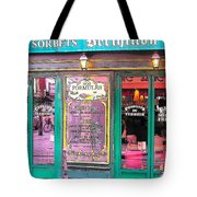 Glaces And Sorbets Berthillon Tote Bag