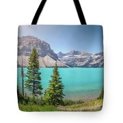 Glacial Colors Tote Bag