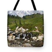 Glacial Runoff Tote Bag